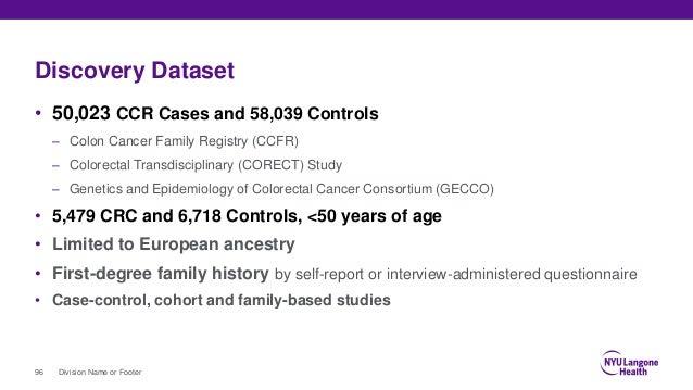 EUROPEAN EOCRC STUDY (EUREOC)