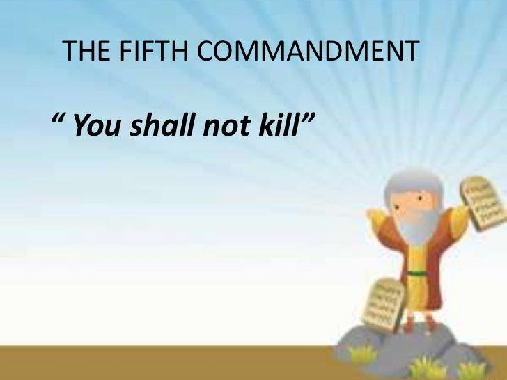 Shall Not Kill - 2001-2004