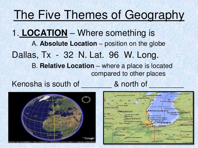 5 themes of geography 3 1 – Five Themes of Geography Worksheet