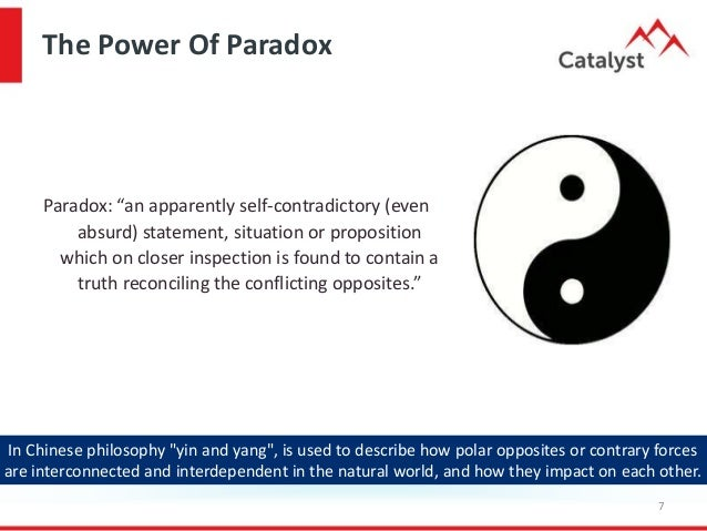 The Paradox Of Performance