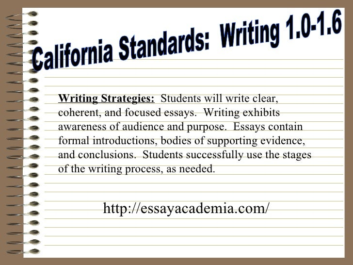 The five paragraph essay