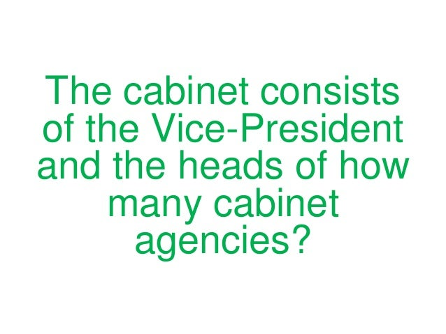 Who CREATES New Cabinet Departments?