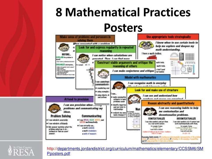 Gewargis, Eileen - 5th Grade / 8 Mathematical Practices