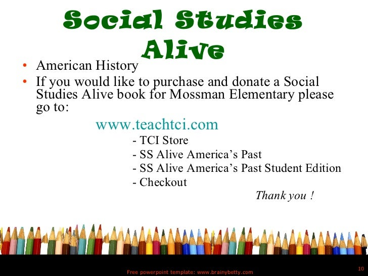 social studies powerpoint template