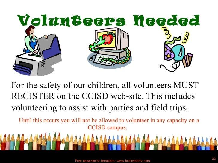 5th grade powerpoint volunteers toneelgroepblik Gallery