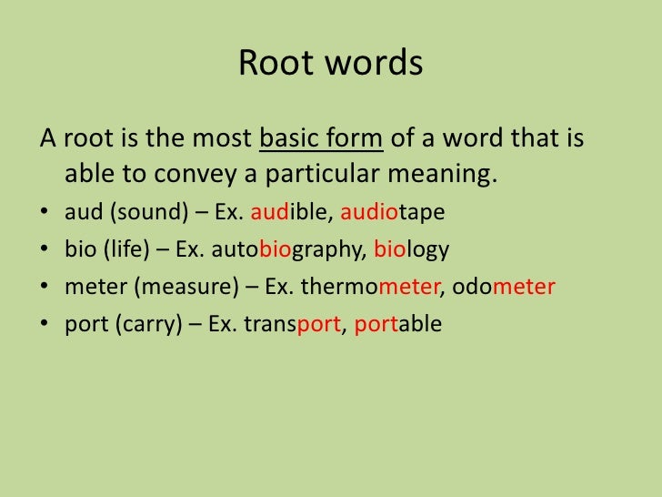 5th Grade Prefixes, Suffixes & Roots