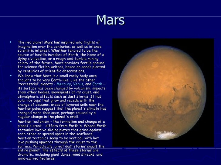 composition of planet mars - photo #23