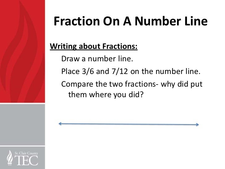 Drawing Number Lines With Fractions : Th grade word problems and fractions pd