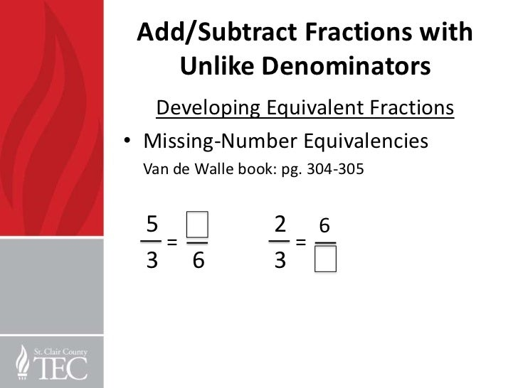 Number Names Worksheets fractions with different denominators worksheet : Adding Fractions With Unlike Denominators 5th Grade Worksheets ...