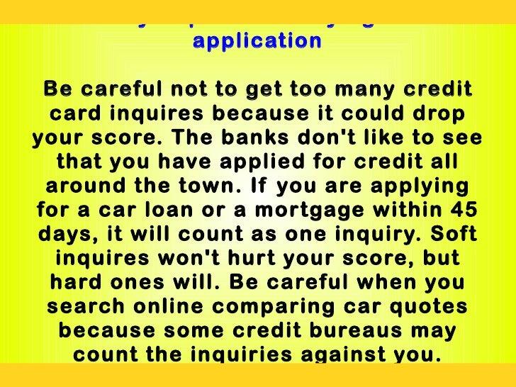 Lying On Car Loan Application