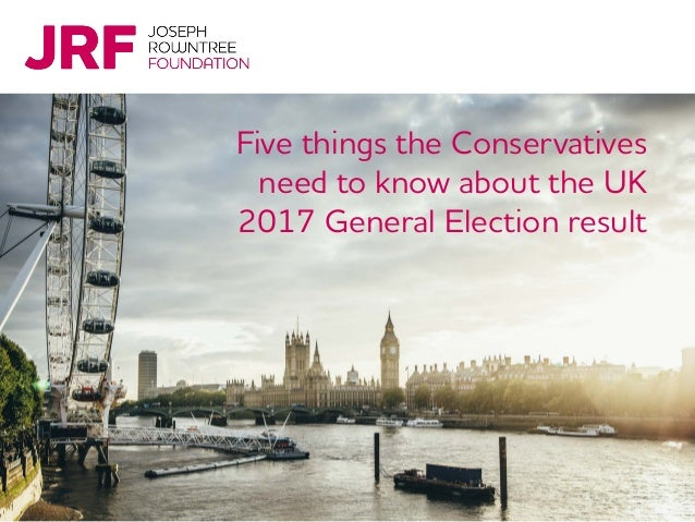 Five things the Conservatives need to know about the UK 2017 General Election result