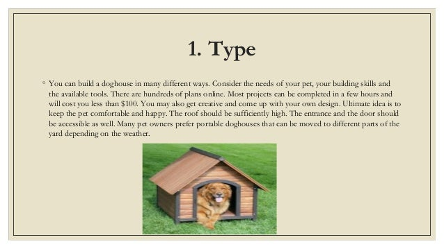 5 things to keep in mind when building a dog house - Things to know when building a house ...