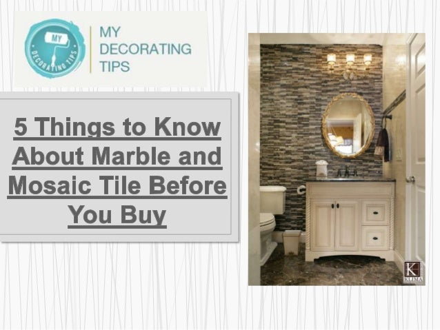 Why lighting will break or make your bathroom appearance? What is the real price of your marble tile? When subway tile pat...