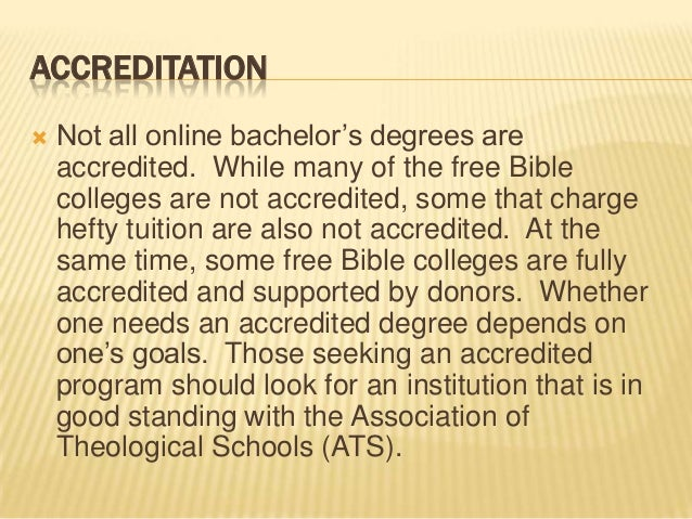 5 Things to Look for in an Online Bible College
