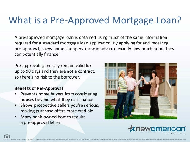 5 Things You Need To Be Pre Approved For A Mortgage Loan New Americ
