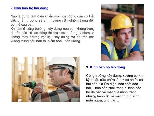 5 thiết bị bảo hộ lao động quan trọng nhất đối với mỗi công nhân Slide 2