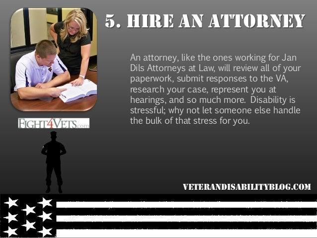 5 Tips For Any Veteran Seeking VA Disability Compensation