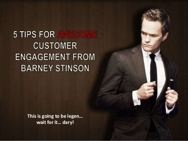 This is going to be legen…  wait for it… dary!