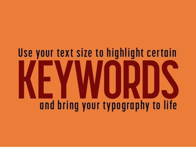 4  ways to create contrast in text