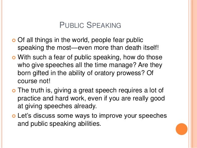 tips for writing a great speech by young