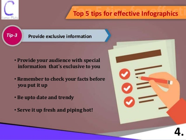 Top 5 ways for creating effective Infographics to drive Content Marke…