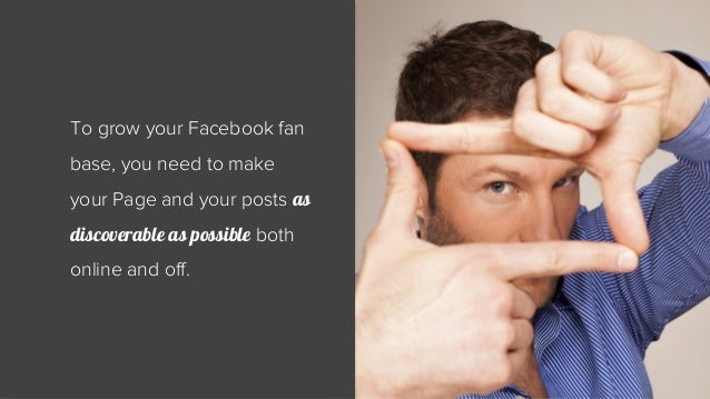 5 Quick Tips For Growing Your Facebook Audience Slide 2