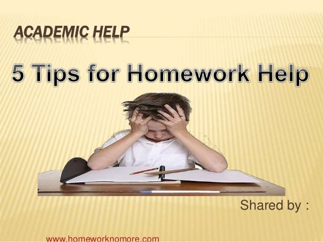 ACADEMIC HELP Shared by :