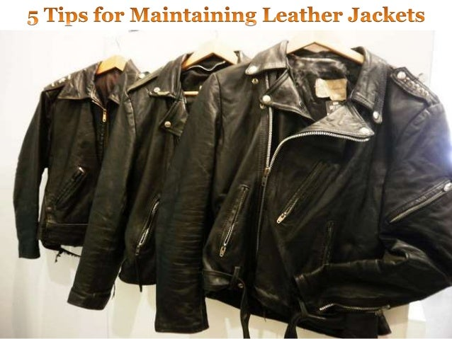 Tips For Maintaining Your Leather Jacket