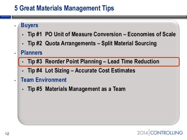 5 tips for sap material master buyer and planner functions