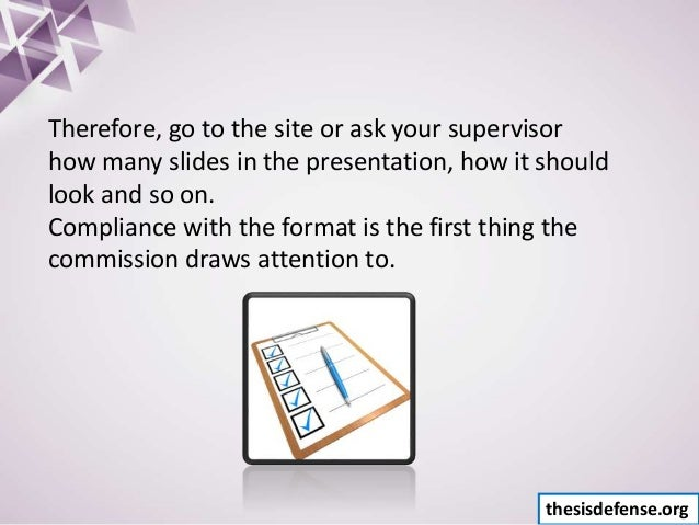 How to Create a Thesis Defense Presentation - Tutorial