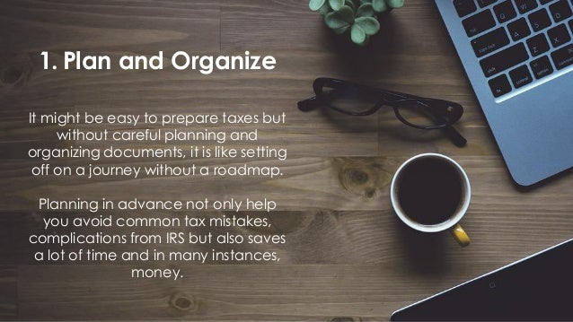 5 Tips How To Prepare For Tax Season 2018
