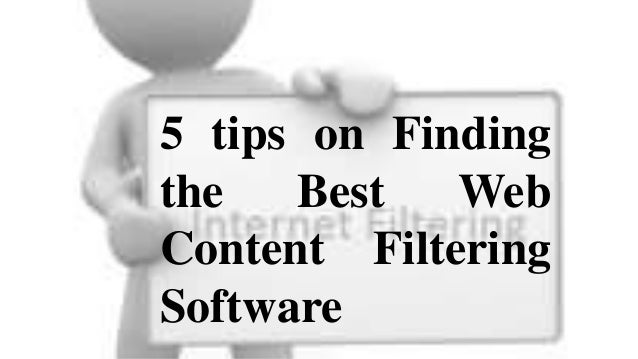 Search for a web content filtering software that channels no matter how you look at it. Sites, discussions, social sites, ...