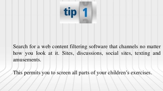 Search for a content channel that has remote capacity. This gives you a chance to screen progressively. You can screen fro...