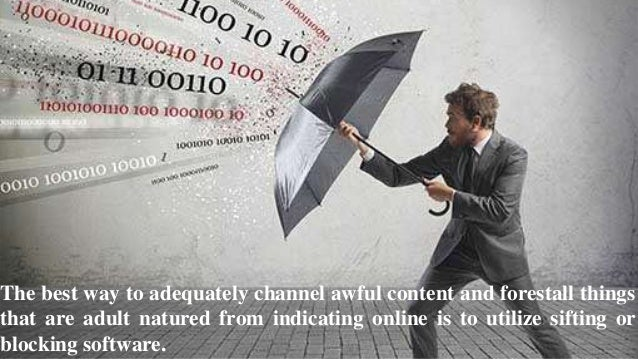 The uplifting news is truly everybody can utilize web content filtering software and the majority of the main brands will ...