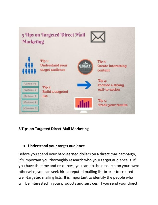 Targeted Online Ads INCREASE Direct Mail Response ...  |Targeted Direct Mail