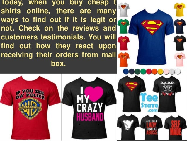 5 tips to buy cheap t-shirts in online store