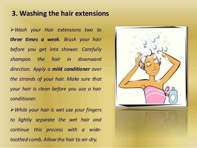 5 tips to care virgin indian hair extensions 5 3 washing the hair extensions pmusecretfo Images