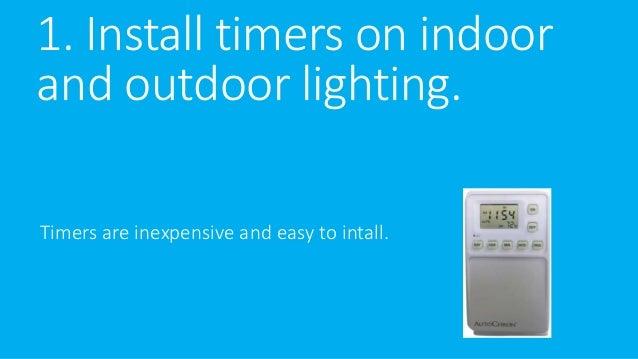 5 tips to increase your lighting efficiency Slide 2