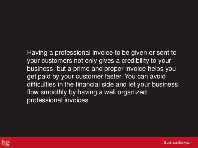 5 Tips to Make an Invoice Like a Pro Slide 3