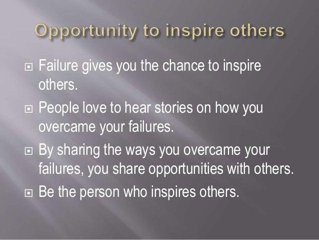 5 tips to overcome failure Slide 3