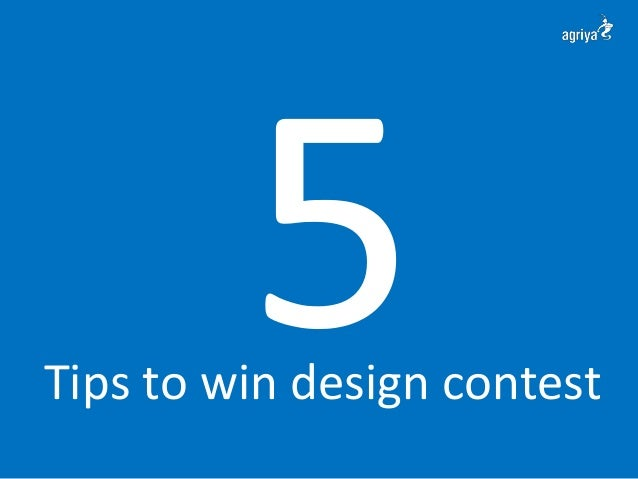 5 tips to win design contest for Win a home contest