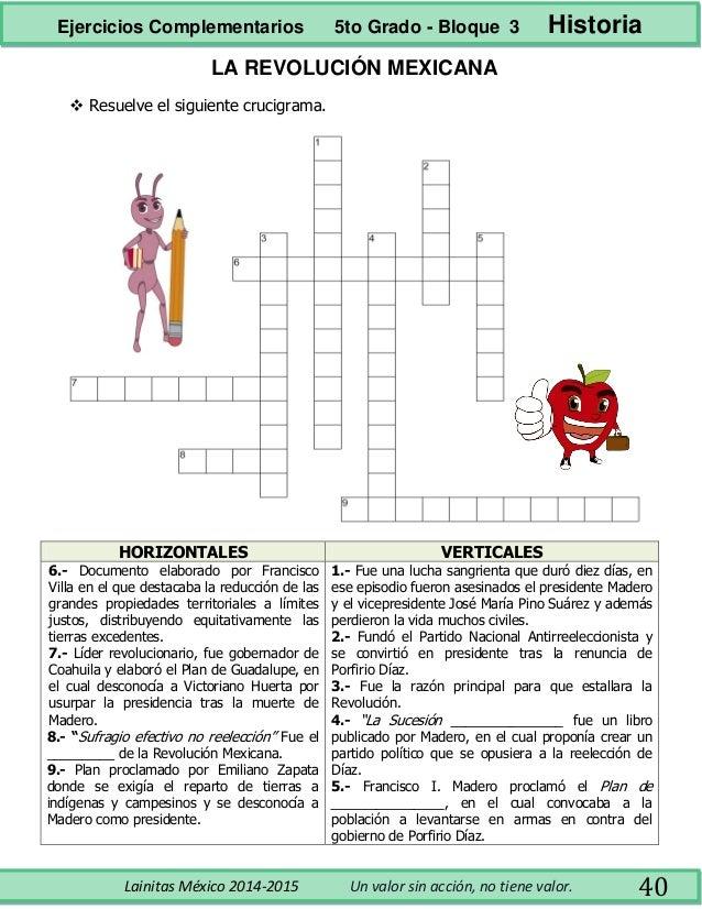 5to Grado Bloque 3 Ejercicios Complementarios | Download PDF - photo#12
