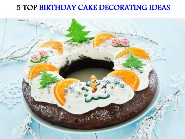 Groovy 5 Top Birthday Cake Decorating Ideas Funny Birthday Cards Online Inifodamsfinfo