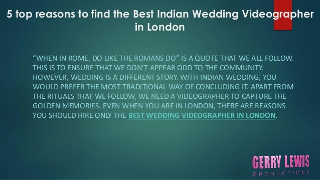 Indian Wedding Videographer In London 2