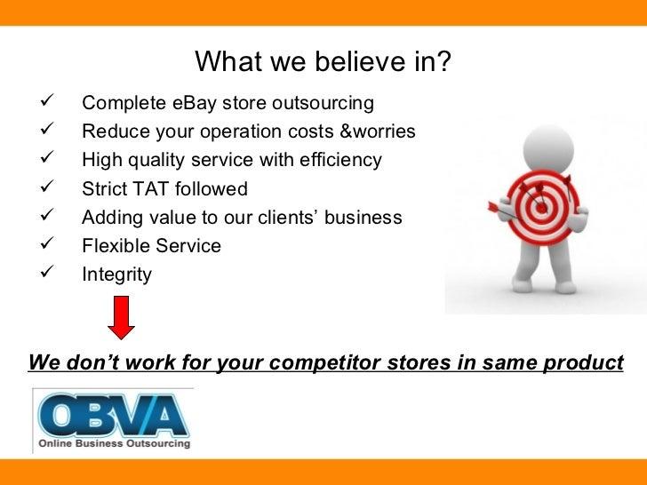 E-Commerce / E-Stores Managment Services