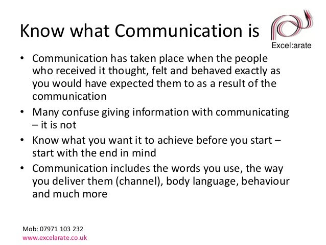 5 top tips for effective business communications