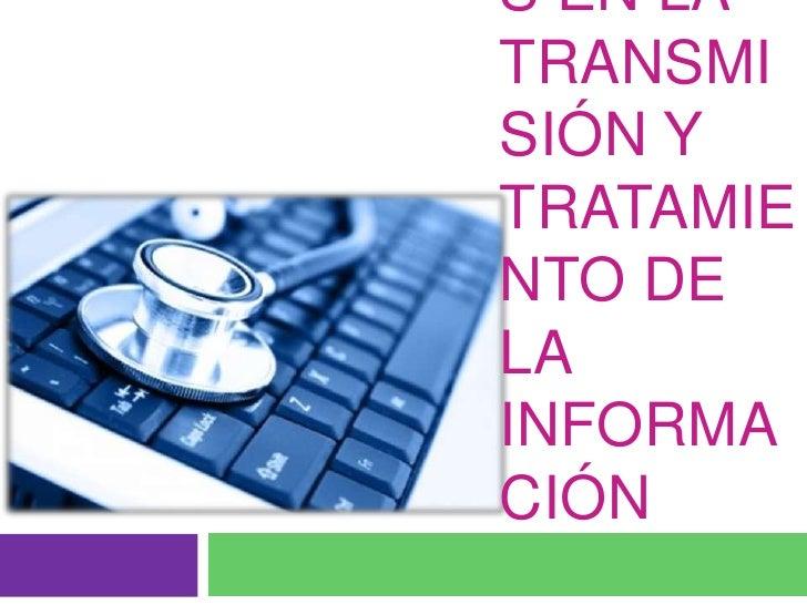 Detención y control de errores en la transmisión y tratamiento de la información<br />