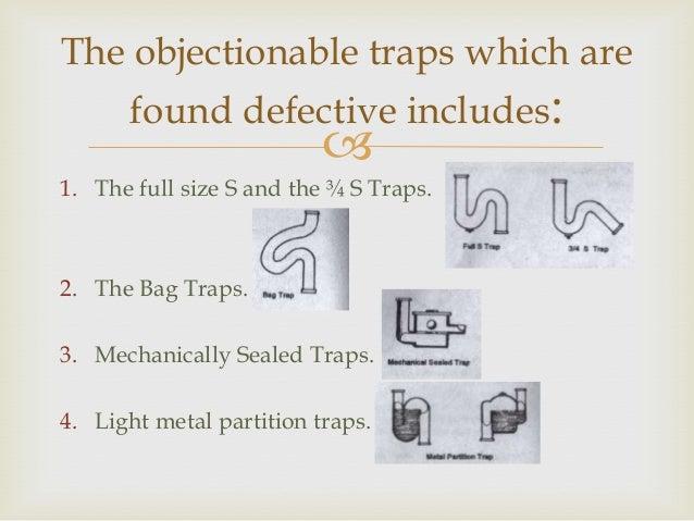 p trap vs s trap