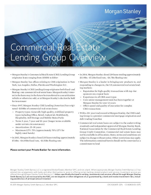 Commercial Real Estate Overview