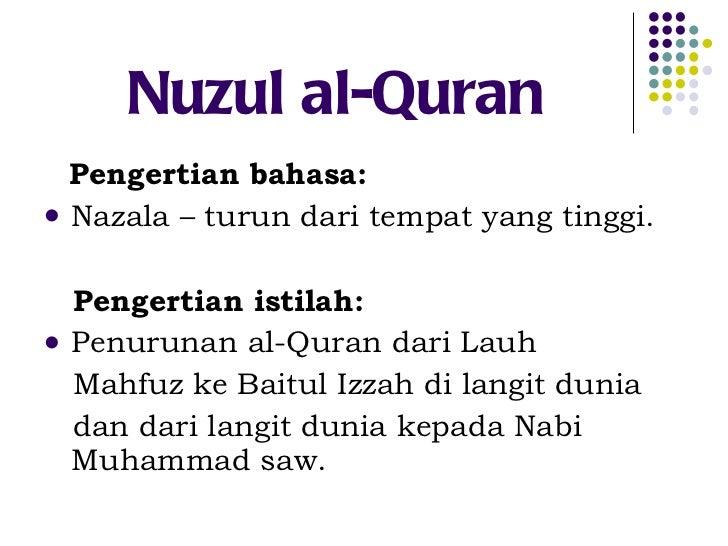 5 Ulumul Quran